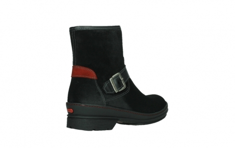 wolky ankle boots 07641 nitra 45000 black suede_22