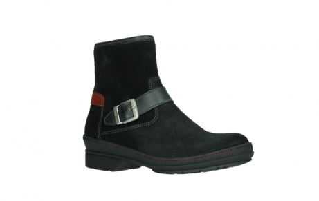 wolky ankle boots 07641 nitra 45000 black suede_3