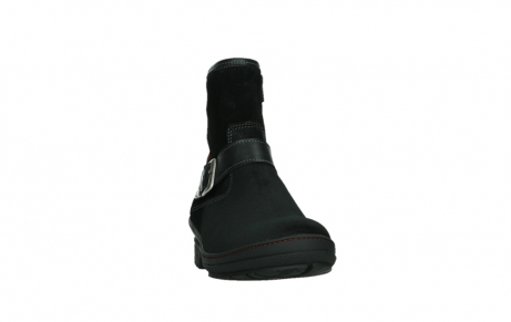 wolky ankle boots 07641 nitra 45000 black suede_6