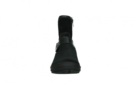 wolky ankle boots 07641 nitra 45000 black suede_7