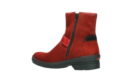 wolky ankle boots 07641 nitra 45505 darkred suede_15