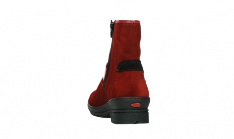 wolky ankle boots 07641 nitra 45505 darkred suede_18