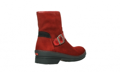 wolky ankle boots 07641 nitra 45505 darkred suede_22