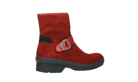 wolky ankle boots 07641 nitra 45505 darkred suede_23