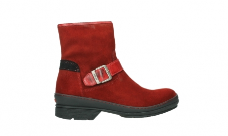 wolky ankle boots 07641 nitra 45505 darkred suede_24