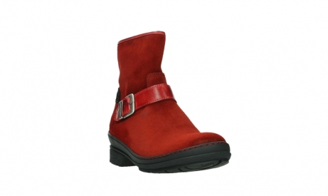 wolky ankle boots 07641 nitra 45505 darkred suede_5