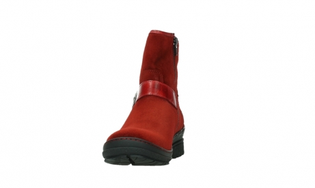 wolky ankle boots 07641 nitra 45505 darkred suede_8