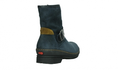 wolky ankle boots 07641 nitra 45800 blue suede_21