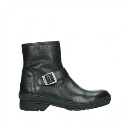 wolky ankle boots 07642 nitra wp 24000 black leather
