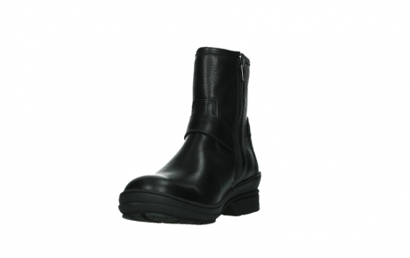 wolky ankle boots 07642 nitra wp 24000 black leather_9