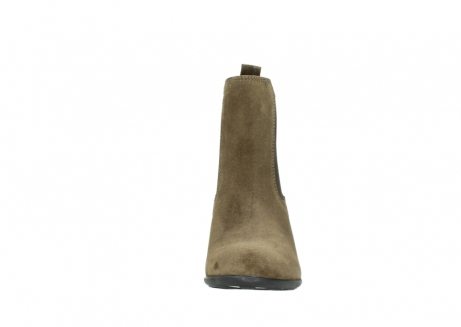 wolky ankle boots 07748 kelly 40310 mid brown oiled suede_19