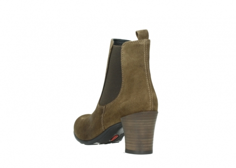 wolky ankle boots 07748 kelly 40310 mid brown oiled suede_5