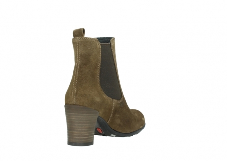 wolky ankle boots 07748 kelly 40310 mid brown oiled suede_9