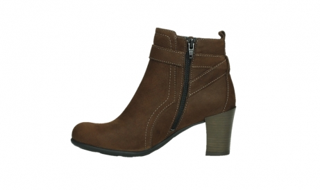 wolky ankle boots 07749 raquel 13410 tabaccobrown nubuckleather_13
