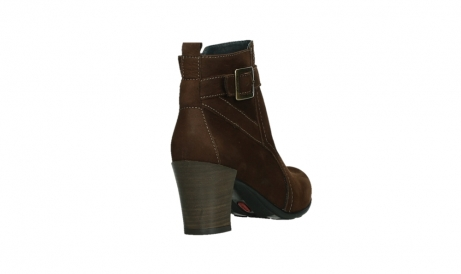 wolky ankle boots 07749 raquel 13410 tabaccobrown nubuckleather_21