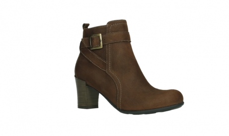 wolky ankle boots 07749 raquel 13410 tabaccobrown nubuckleather_3