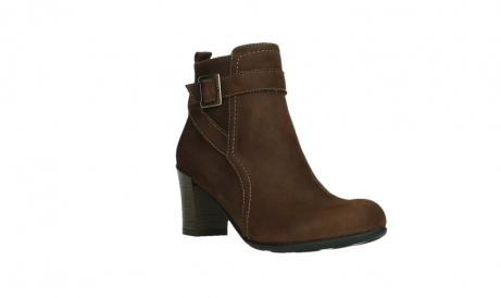 wolky ankle boots 07749 raquel 13410 tabaccobrown nubuckleather_4