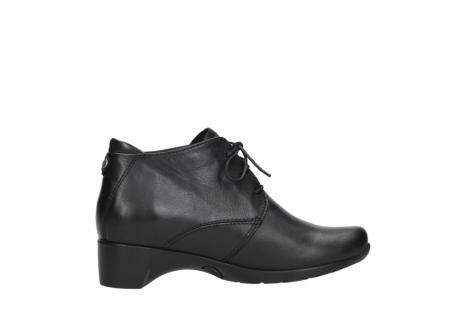 wolky ankle boots 07821 zircon 20000 black leather_12