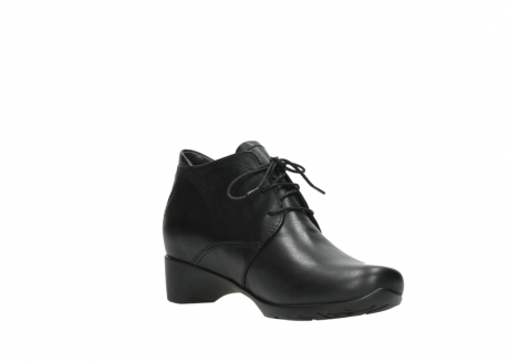 wolky ankle boots 07821 zircon 20000 black leather_16