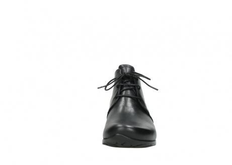 wolky ankle boots 07821 zircon 20000 black leather_19