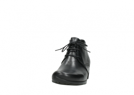wolky ankle boots 07821 zircon 20000 black leather_20