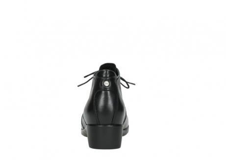 wolky ankle boots 07821 zircon 20000 black leather_7