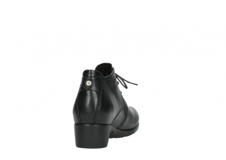 wolky ankle boots 07821 zircon 20000 black leather_8