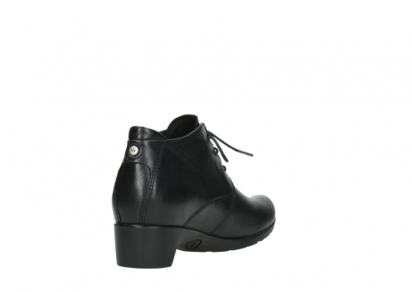 wolky ankle boots 07821 zircon 20000 black leather_9