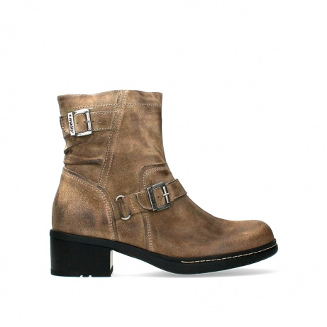 wolky ankle boots 01265 raymore 45150 taupe suede