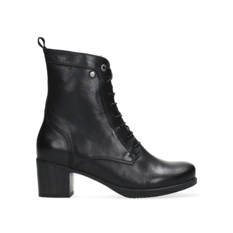wolky ankle boots 05050 sarah 20000 black leather