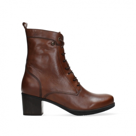 wolky ankle boots 05050 sarah 20430 cognac leather