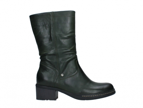 wolky mid calf boots 01261 edmonton 30730 forest green leather_1