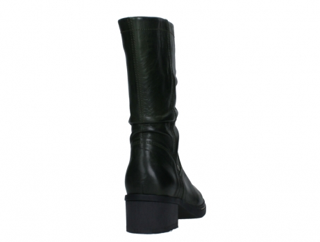 wolky mid calf boots 01261 edmonton 30730 forest green leather_20