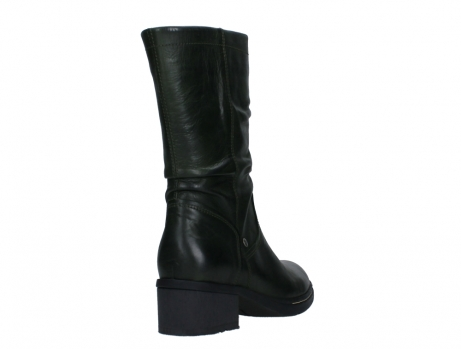 wolky mid calf boots 01261 edmonton 30730 forest green leather_21
