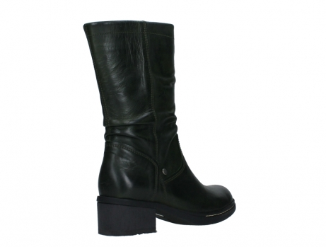 wolky mid calf boots 01261 edmonton 30730 forest green leather_22