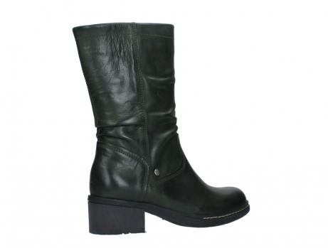 wolky mid calf boots 01261 edmonton 30730 forest green leather_23