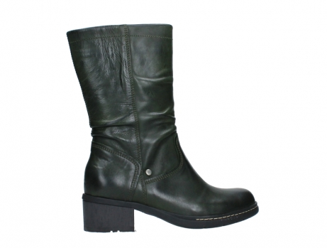 wolky mid calf boots 01261 edmonton 30730 forest green leather_24
