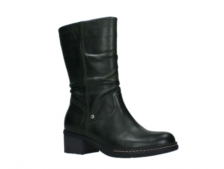 wolky mid calf boots 01261 edmonton 30730 forest green leather_3