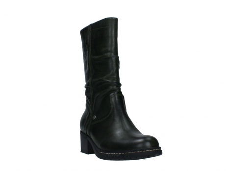 wolky mid calf boots 01261 edmonton 30730 forest green leather_5
