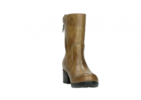 wolky mid calf boots 01376 rialto 30920 ocher yellow leather_18