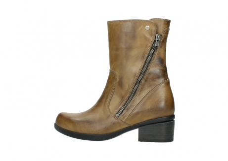 wolky mid calf boots 01376 rialto 30920 ocher yellow leather_2