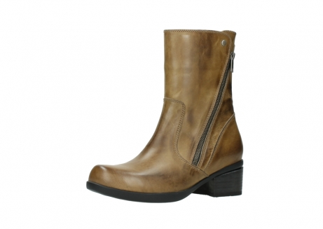 wolky mid calf boots 01376 rialto 30920 ocher yellow leather_23