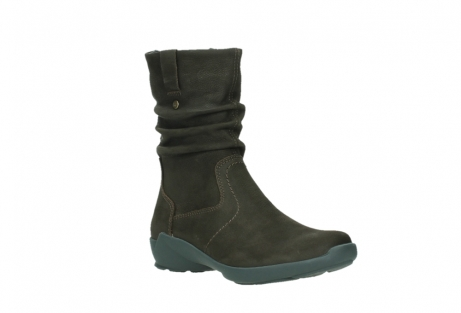 wolky mid calf boots 01573 luna wp 11302 brown nubuck water proof warm lining_4