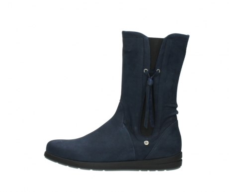 wolky mid calf boots 02425 newton wp 13800 blue nubuckleather_1