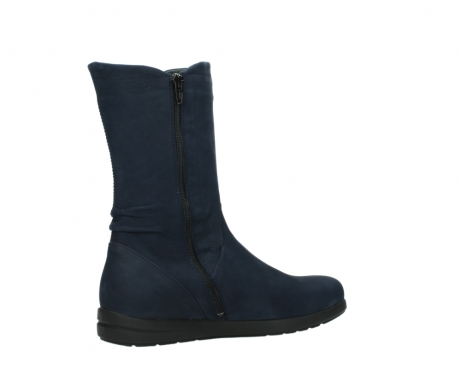 wolky mid calf boots 02425 newton wp 13800 blue nubuckleather_11