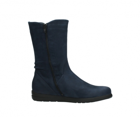 wolky mid calf boots 02425 newton wp 13800 blue nubuckleather_14