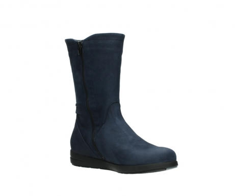 wolky mid calf boots 02425 newton wp 13800 blue nubuckleather_16