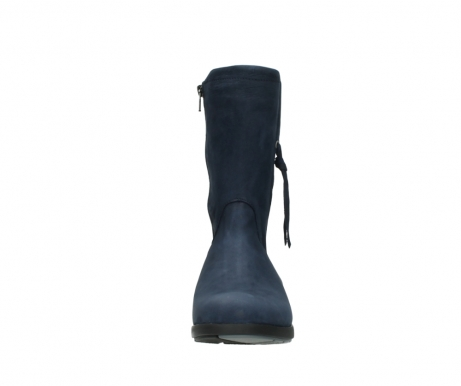 wolky mid calf boots 02425 newton wp 13800 blue nubuckleather_19