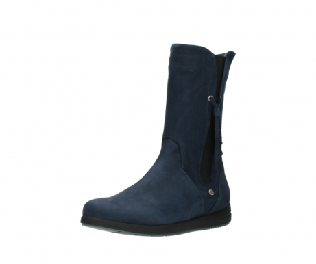 wolky mid calf boots 02425 newton wp 13800 blue nubuckleather_22