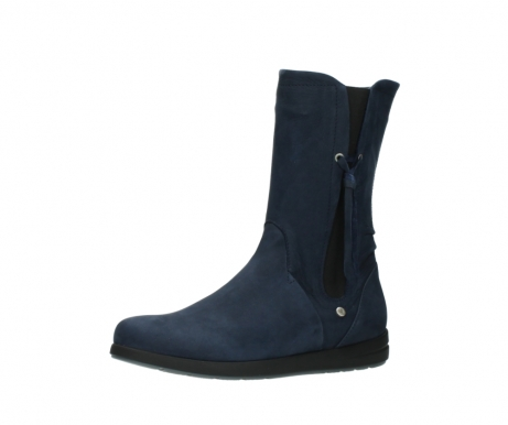 wolky mid calf boots 02425 newton wp 13800 blue nubuckleather_23